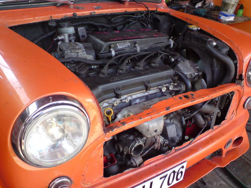 Nissan Micra Engine Transplant Page 11 Other The Mini Forum Ga15de Wiring Diagram Posted Image