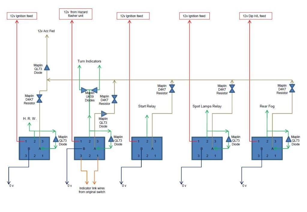 Terrific Wiring Savage Hazard Switch New Model Wiring Diagram Wiring Database Ilarigelartorg
