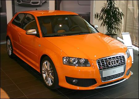 Bright Orange Paint does anyone know the paint code for the bright orange audi s3