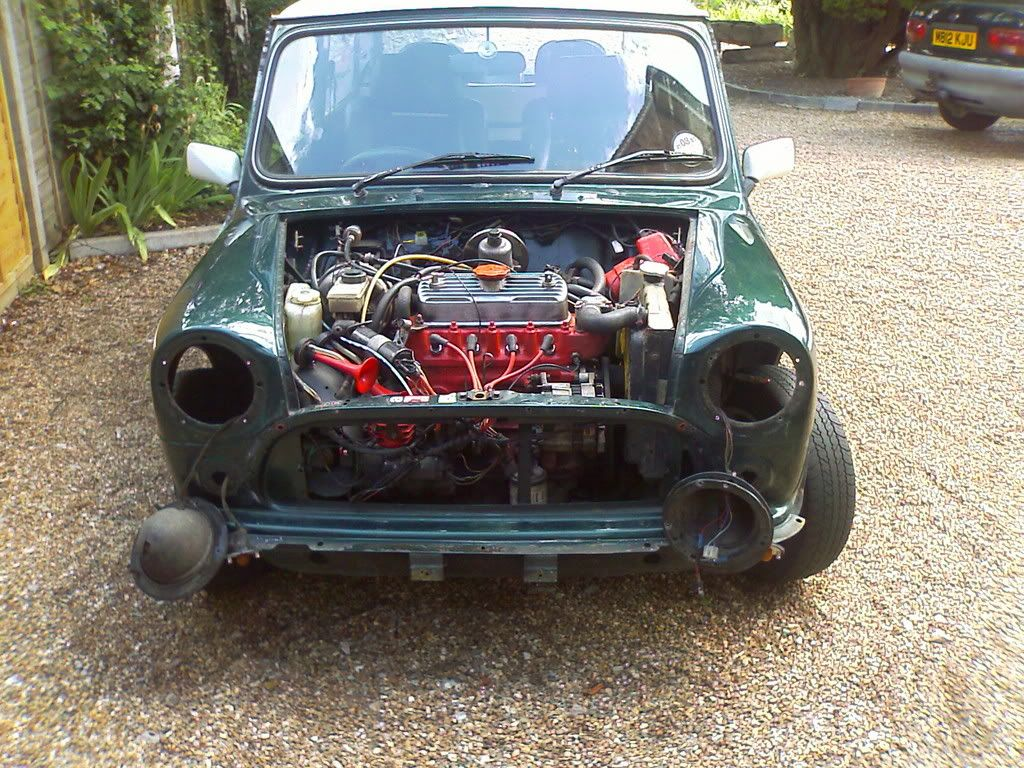 How To Flipremovable Front End A Mini Exterior The Mini Forum