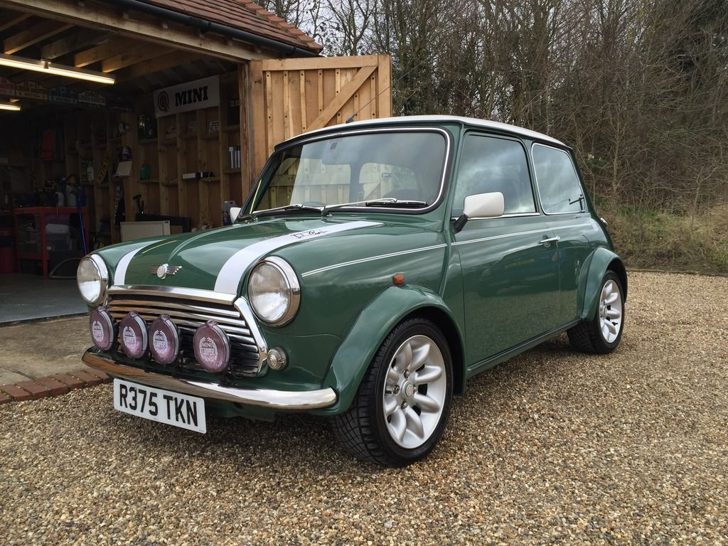 Mini Cooper Sportspack Almond Green Archive The Mini Forum