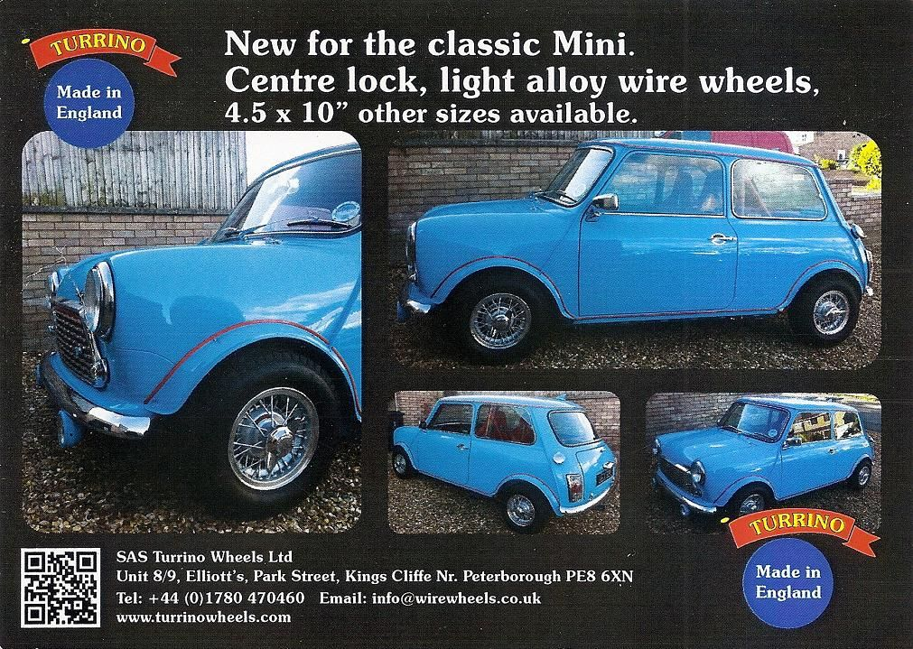 Wire Wheels For Minis - Styling - The Mini Forum