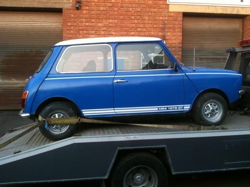 Newbie With A 1275gt Restoration Project - Mini Saloons - The Mini ...