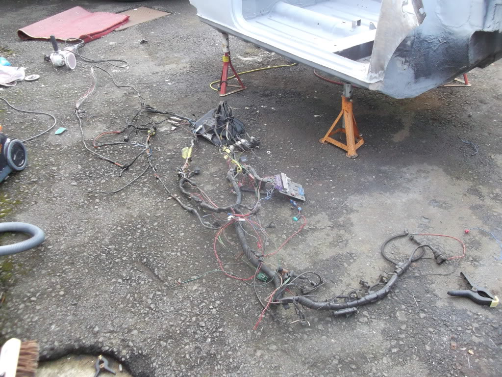 Vini The Vauxhall Powered Mini Page 12 Forum Wiring Harness Finally Got Round To Stripping Out Of Carnot Looking Forward Refitting It Though Lol