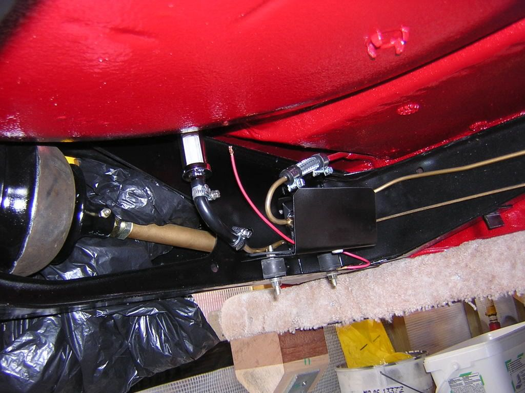 Making The Switch To Electric Fuel Pump Problems Questions And Com View Topic Where Mount Pics Please Minirest4003