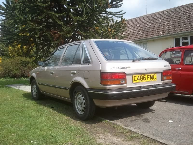 Mazda 323 1986 Retro/resto - Any Other Projects - The Mini Forum