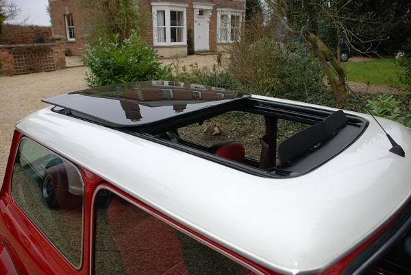 Putting A Bmw Mini Panoramic Sunroof Into A Rover Mini Page 3