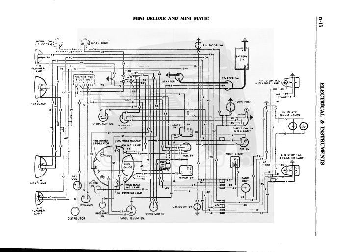 1971 vw super beetle fuse box diagram